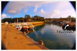 Fuel Dock at Ulladulla Harbour