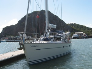 *SV JUNGLE JIM *OYSTER 53 *Picture taken at Yepoon *Hamilton Island to Sydney *1000nm - 3.5 weeks