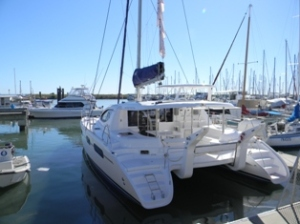*LEOPARD 46 *Used for Sea Trials and Boat Shows *Scarborough Marina, QLD  *2011-2012