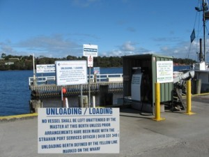 Macquarie Harbour *Strahan Fuel Dock