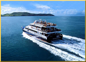 *TSMV CAPRICORN *CRUISING THE WHITSUNDAY'S  *Ansett South Molle Marine Fleet *1987-1992
