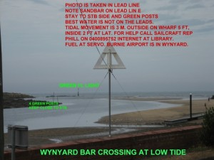 Wynyard *Bar and leads